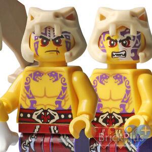 LEGO Ninjago Krait w/ Weapons 70752 Jungle Trap & Sleven 70753 Lava Falls 2015