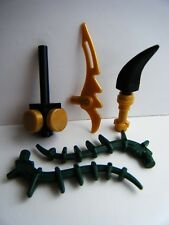 NEW LEGO NINJAGO MINIFIGURE WEAPONS FANG BLADE ACCESSORIES PACK SWORD PARTS