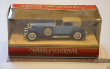 9 ) Matchbox MOY Models of Yesteryear - Y-4 1930 Duesenberg Model J