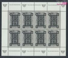 Autriche 2066S mini feuille Feuille miniature impression noir neuf 1992 (9063360