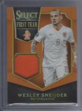 2015 Panini Select Soccer Wesley Sneijder Worn Jersey Relic Orange Prizm #/149