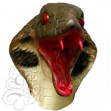 Latex Protection Complète Animal Serpent Cobra Déguisement Cerf Masques De