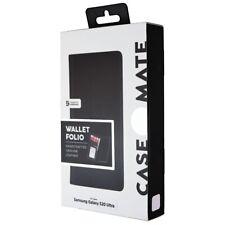 Case-Mate Billetera Estuche Serie Folio para Samsung Galaxy S20 Ultra-Negro