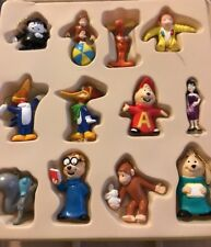 Universal Studio Mini Ornaments Set Of 12 In Original Box Woody, Alvin, George