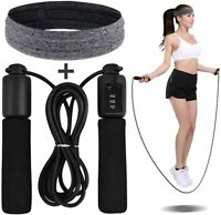 Kids Skipping Jump Rope Adjustable Aerobic Exercise Boxing Bearing Speed Fitness