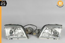90-02 Mercedes R129 SL500 SL600 Right & Left Headlight Head Lamp Set Xenon OEM