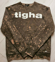 Tigha Herren  Sweater Pullover Cito Dark Mud Größe M
