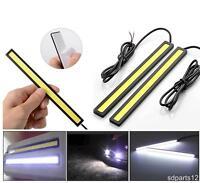 2x Feux de Jour LED COB 17cm Lampe Diurne DRL 12V Auto Voiture IP67 6000k