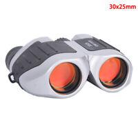 Concert Binoculars Mini 30X25 HD Telescope Zoom Portable for Travel Night Vision