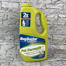 Rug Doctor Pet Formula Professional Strength Carpet Cleaner Green Bottle 40 oz