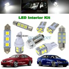 12 White LED Map Dome light interior package kit fit 06-13 Lexus IS250 IS350 ISF