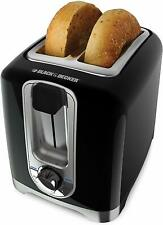 Black Decker TR1256B 220 Volt 2-Slice Toaster For Overseas Use Export Only