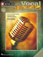 Vocal Jazz (Low Voice) - Jazz Play-Along Volume 130 (Cd/Pkg), , Good Condition,