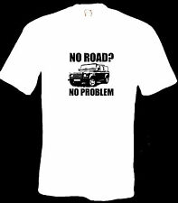 Land Rover defender 110 clothing car jeep NAS off road 4 x 4 T Shirt