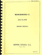 Nikon Nikonos II Service & Repair Manual