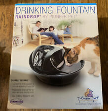 Pioneer Pet Raindrop Drinking Fountain Raindrop By Pioneer Pet 6022