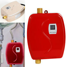 Instant Electric 110V Tankless Hot Water Heaters Kitchen Mini 35-45℃ Heating