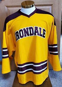 Irondale Knights High School Minnesota K1 Stitched Hockey Jersey Small #2