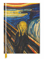 Edvard Munch The Scream Sketchbook Foil Cover Sketchbook (Hardcover)