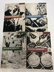 Queen & Country Definitive Edition Vol.1 To 4 TPB SC Greg Rucka