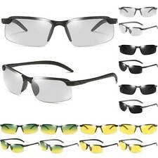 Men Photochromic Polarized Sunglasses Day Night Driving Sport Glasses Eyewear US