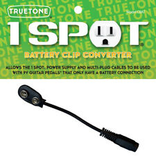 Truetone One 1 Spot Battery Clip Converter Cable 9V CBAT Visual Sound