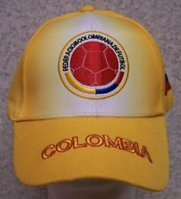 Embroidered Baseball Cap Soccer International Colombia Football Federation NEW