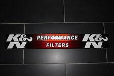 K&N KN Aufkleber Sticker Decal Logo Schriftzug Windshield Banner Heckscheibe XXL