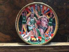 Larry Bird- Small Souvenir Plate- 1991 Sports Impressions