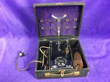 Vintage Blue Ray Violet Wand Machine Medical Interest