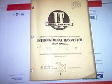 1466 1468 1566 1568 1586 Hydro 100 186 International Harvester I&T Shop Manual