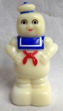 "GhostBuster Marshmallow Man Pencil Sharpener 1984 3"" tall Hard Plastic"