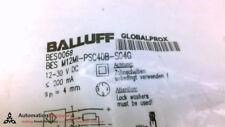 BALLUFF BES M12MI-PSC40B-S04G, INDUCTIVE SENSOR; BES0068, NEW #208274