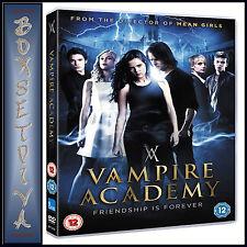 VAMPIRE ACADEMY - Zoey Deutch & Lucy Fry   **BRAND NEW DVD  ****