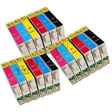 18 CARTUCCE PER EPSON Stylus Photo RX585 RX685 PX700W P50 PX650  PX710W BL