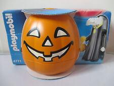 Playmobil 4771 Negro calabaza de Halloween De Fantasma & figura con Swag Bolso Nuevo