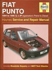 FIAT PUNTO 1.1 1.2 PETROL & 1.7 DIESEL ( 1994 - 1996 ) SERVICE & REPAIR MANUAL