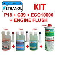 "MECARUN - KIT ADDITIF TRAITEMENT ""ETHANOL"" P18+C99+ECO10000+ENGINE FLUSH"