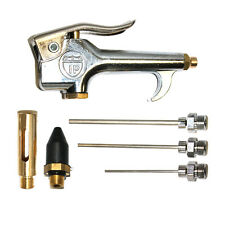 Air Blow Gun Kit Standard Thumb Lever with Tips - BZ306