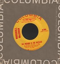 (Hear) 1967 Marshall McLuhan Non-Music Psychedelic DJ 45 (Medium is the Massage)