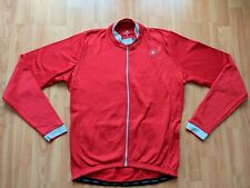 Castelli Men's Long Sleeve Thermal Cycling Jersey/Jacket Size: 2XL NEW!