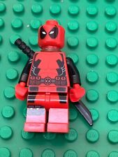 LEGO MARVEL SUPER HERO X-MEN DEADPOOL GENUINE MINIFIGURE ONLY FROM SET 6866 RARE