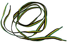 Paire de lacets couleurs drapeau jamaïcain  99cm- jamaican flag shoe laces