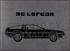 1981 DeLorean Prestige Sales Catalog MINT Original 81 De Lorean 16 Pages