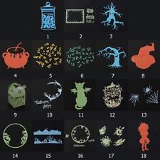 Halloween Die corte muere Stencil Scrapbook álbum de grabación en relieve Hágalo usted mismo Craft Tarjeta De Regalo