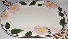 Servierplatte Platte Oval Villeroy & Boch Wildrose Handmalerei 33 x 22,5 cm