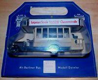DDR Modell Alt-Berliner Busmodell Daimler 1911 OVP 1974 Plastspielwaren Berlin
