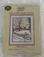 Something Special Winter Scene Counted Cross Stitch Kit 50320 Candamar Designs