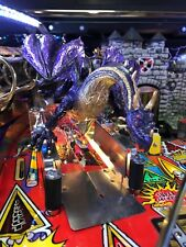 AWESOME!! New Medieval Madness or Remake Pinball Machine Dragon Ramp Mod