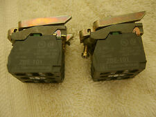 Schneider XB4 series push button Contact Blocks with 4 x ZBE101  (Pack of 2)